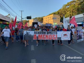 """Sintep-MT chama Mendes de """"covarde e mentiroso"""" após declarações sobre greve de 2019"""