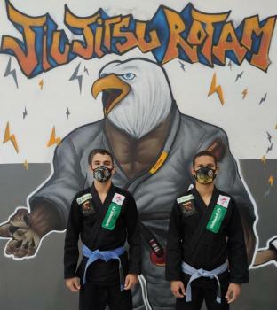 Atletas do Jiu-Jitsu Rotam da PM são contemplados com bolsa atleta do Governo de Mato Grosso