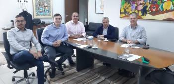 Secretário se reúne com empresários catalães e busca atrair investimentos para Mato Grosso