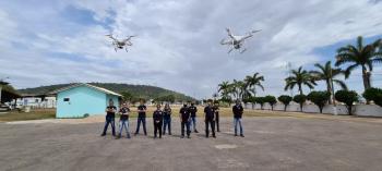 Policiais da Regional de Pontes e Lacerda são capacitados em operação de aeronave remota