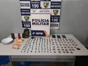 Três mulheres são pegas com droga em bairro de Várzea Grande