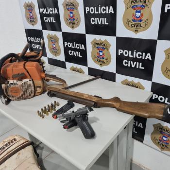 Duas pessoas são presas em operação de combate desmatamento ilegal e outros crimes em Vila Rica