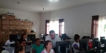 Municipio Pontes Lacerda (Escola Mun. Arlindo Antonio Nogueira )