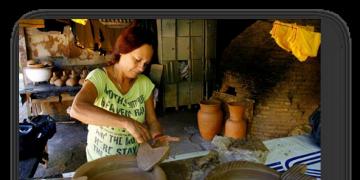 Oficina realizada pelo grupo Flor Ribeirinha ensinará a arte do barro