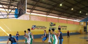 Estadual de basquete em Nobres