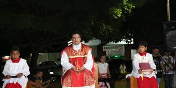 Missa de Ação de Graças na Igreja Matriz – Paróquia São Sebastião- Aniversário de Nobres