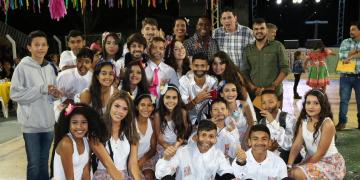 Arraiá das Escolas Municipais tem concurso de quadrilha em Diamantino
