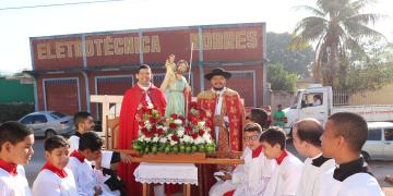 Carreata em comemoração  a festa de São Cristovão