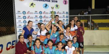 Confira premiação das equipes campeãs dos Jogos Estudantis  em Nobres