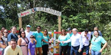 Inauguração do Acqua Fun Salobão