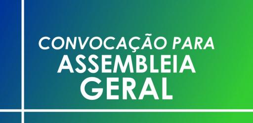 CONVOCAÇÃO PARA ASSEMBLEIA GERAL