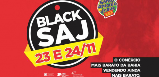 FUNCIONAMENTO DO COMÉRCIO NO SÁBADO DO BLACK SAJ