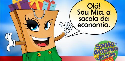 MASCOTE DO COMÉRCIO MAIS BARATO DA BAHIA GANHA UM NOME ATRAVÉS DE CONCURSO EM COMEMORAÇÃO AO MÊS DAS CRIANÇAS