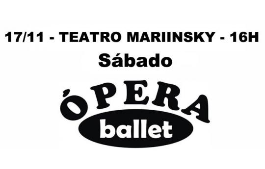 17/11 - TEATRO MARIINSKY - 16H