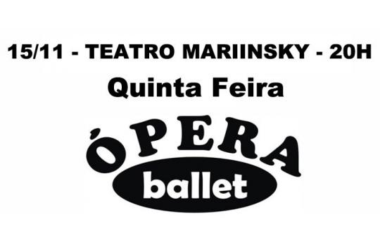 15/11 - TEATRO MARIINSKY - 20H