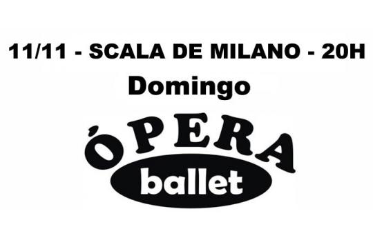 11/11 - SCALA DE MILANO - 20H