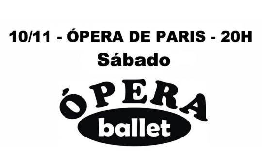 10/11 - OPERA DE PARIS - 20H