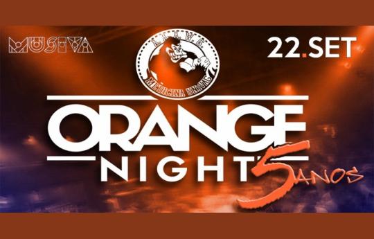 ORANGE NIGHT 5 ANOS