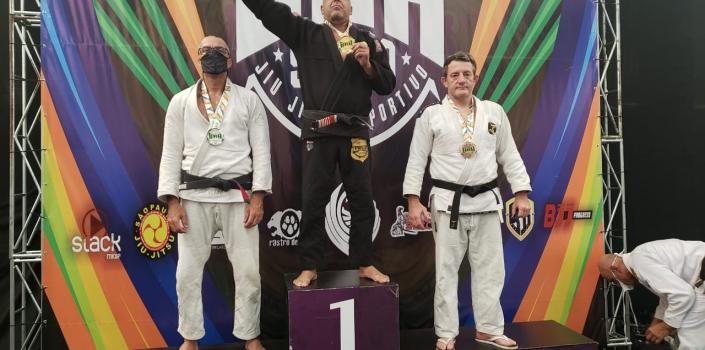Policial civil de MT é medalhista de ouro em campeonato nacional