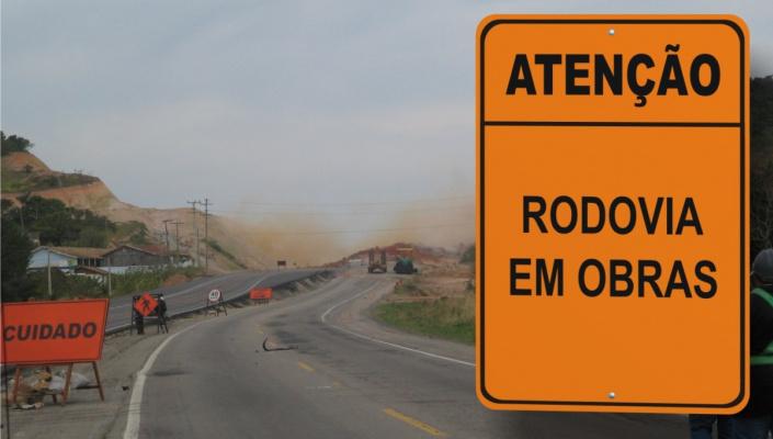 Rota do Oeste informa que fará interdição parcial na BR-163 amanhã