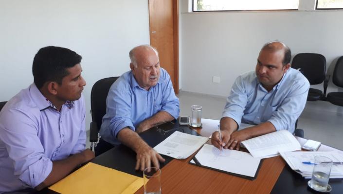 Prefeitura e Funasa assinam termo de cooperação para implantação de sistema de tratamento de água na Sela Dourada