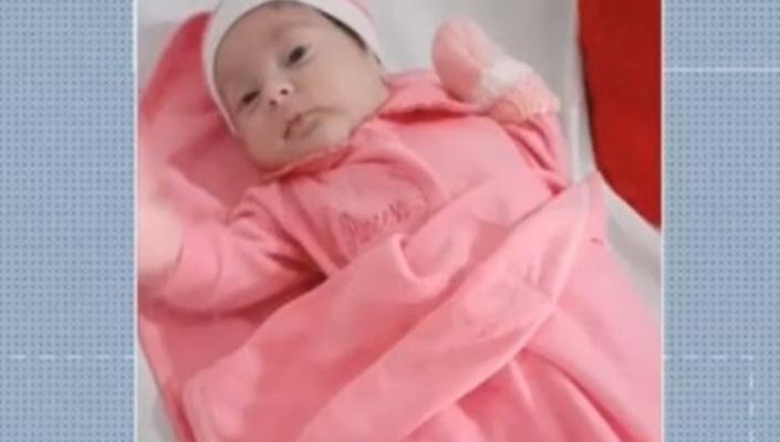 Bebê que teve couro cabeludo arrancado durante  parte recebe alta
