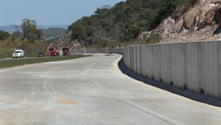 DNIT entregará em julho trecho da duplicação da BR-163/MT na região da Serra da Caixa Furada em Nobres