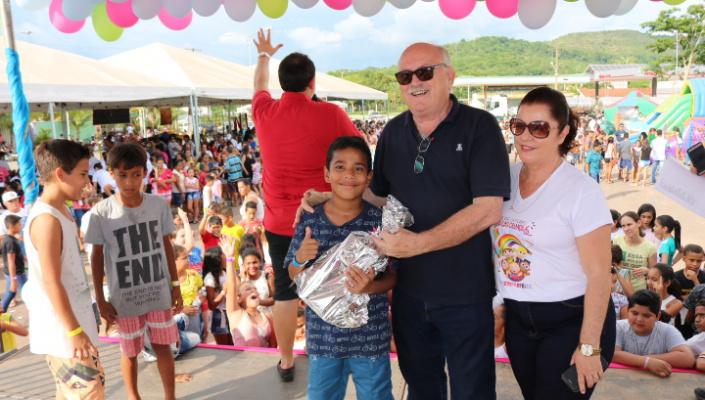 Prefeitura realiza mega festa em comemoração ao Dia da Criança em Nobres