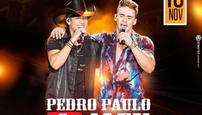 Dupla Pedro Paulo e Alex se apresenta em Nobres nesta sexta-feira