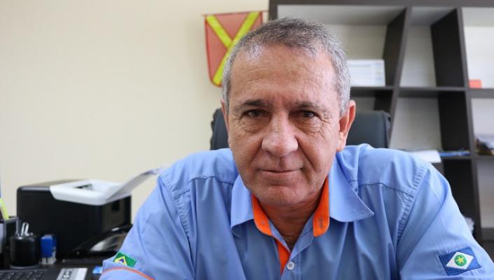 Gilmarzinho da Ecoplan testa positivo para covid-19 e se recupera em unidade de saúde da capital