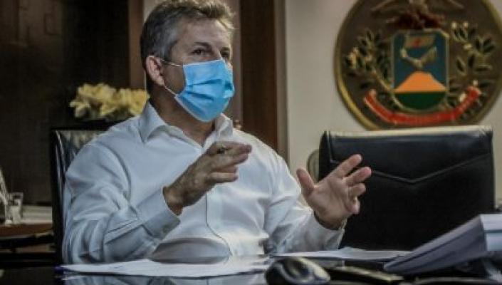 Governador Mauro Mendes testa positivo para o coronavirus