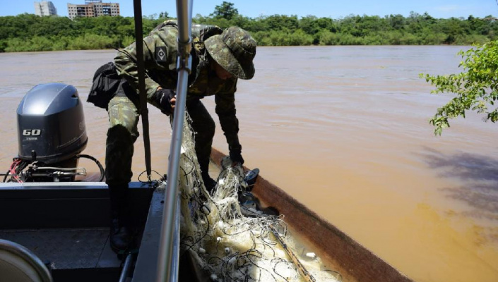 Multa para pesca ilegal com rede pode chegar a R$100 mil em Mato Grosso