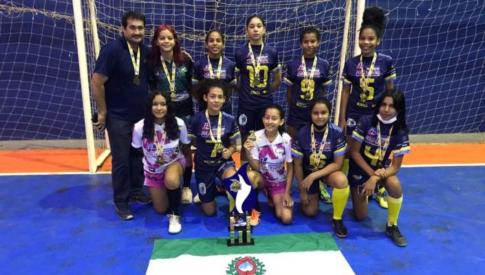 Escola Estadual Mario Abrão Nassarden de Nobres é campeã Mato-grossense de 2021  feminino nos Jogos Escolares