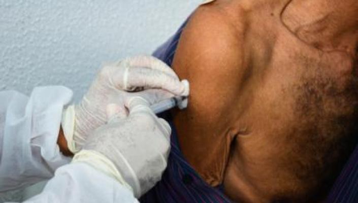 Prefeitura abrirá ainda nesta sexta pré-cadastro de vacinação para pessoas de 45 a 54 anos