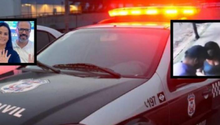 Grávida, esposa de deputado tem carro roubado na Praça Popular