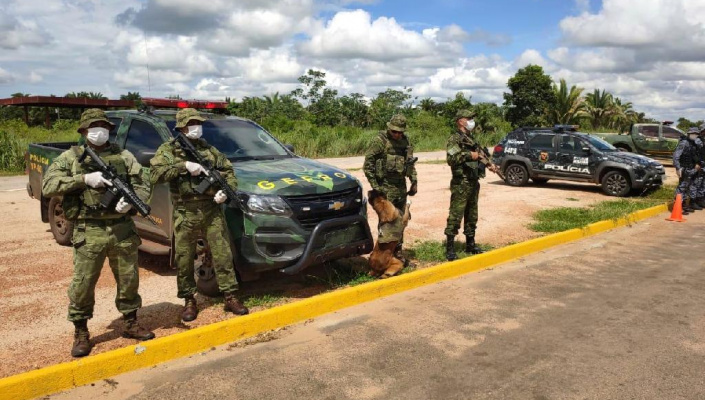 Gefron intensifica barreira para impedir entrada de estrangeiros em Mato Grosso