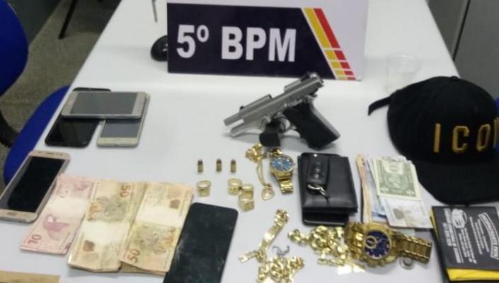 PM é acionada, encontra vítima de agressão e prende trio com várias passagens criminais em Rondonópolis