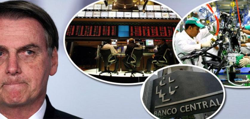 ECONOMIA AFUNDA COM BOLSONARO: PIB DEVE SER NEGATIVO....