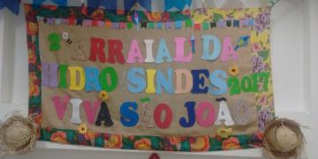 Festa Junina da Hidroginástica SINDES/2017