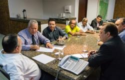 Governador recebe Diretoria do Sindes e garante Carreira fora da Pec do Teto