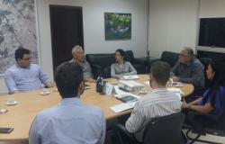 Diretoria do Sindes se reúne com secretário e assessoria jurídica da Seges