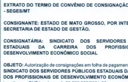 Governo renova o termo de convênio com Sindes