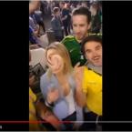 Novos vídeos mostram brasileiros ridicularizando russos durante a Copa.