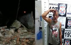 Homem é preso por dirigir bêbado após derrubar muro no Jardim Petrópolis