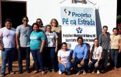 Saúde mais próxima da comunidade rural no assentamento Bonanza