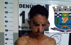Homem é preso acusado de comercializar  drogas em Bom Jardim