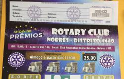 Rotary Clube  de Nobres realiza  Show de Prêmios e destinará  parte da renda para ajudar o  Hospital  do Câncer