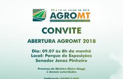 AgroMT 2018 terá início na próxima segunda-feira