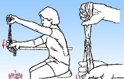 Exercícios terapêuticos para o cotovelo e mão